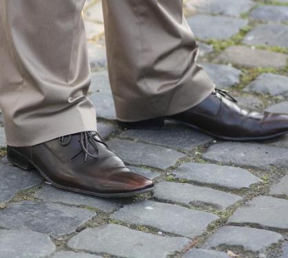 Anzugshose – wie lang muss sie sein